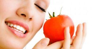 domates maskesinin cilde faydaları