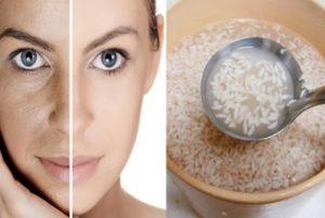 pirinç suyunun cilde faydaları
