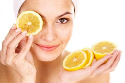sivilce kurutmak için limon